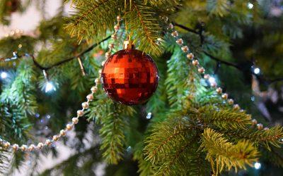 Verwen iemand met Kerst